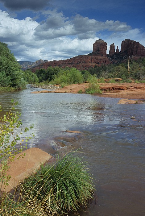 Red Rock Crossing In Sedona, Arizona Print by David Edwards