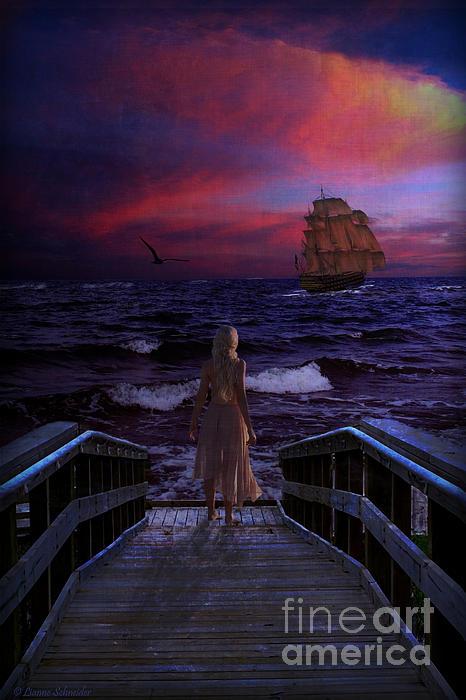 Lianne Schneider - Red Sails in the Sunset