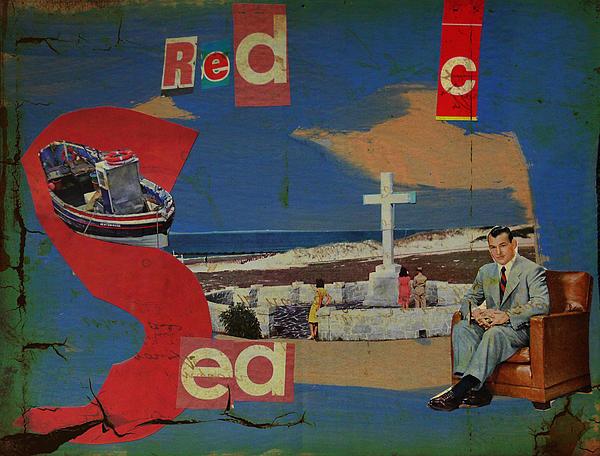 Red Sea Print by Adam Kissel