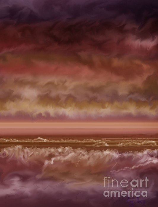 Anne Norskog - Red Sky at Night Sailor Delight