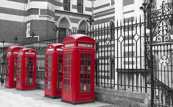David French - Red telephone boxes