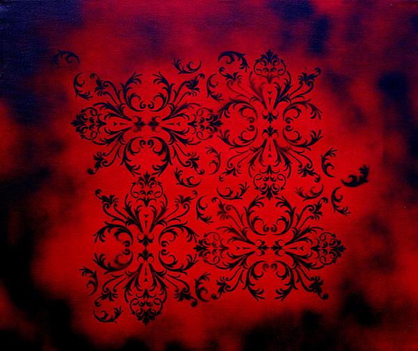 Red Velvet By Madart Print by Megan Duncanson