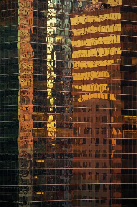 Reflecting Chicago Print by Steve Gadomski