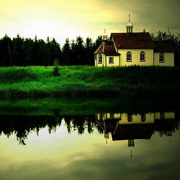 Reflection Of Faith Print by Jerry Cordeiro
