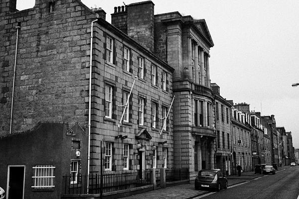 Regent Quay Aberdeen Scotland Uk Print by Joe Fox