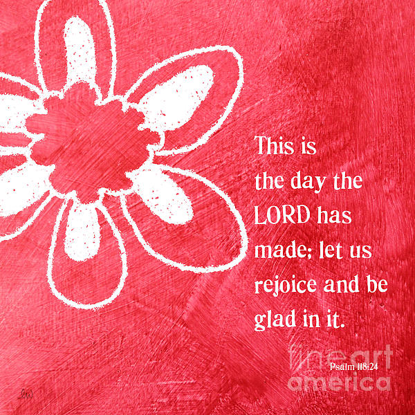 Rejoice Print by Linda Woods