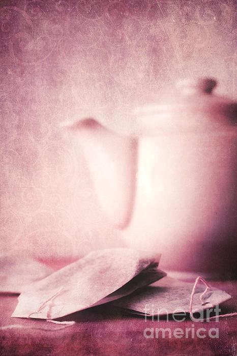 Relaxing Tea Print by Priska Wettstein
