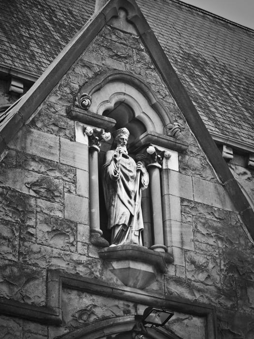 Religious Icon Nenagh Ireland Print by Teresa Mucha