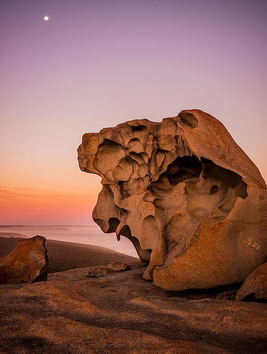 Remarkable Rocks Print by Ryan  Carter