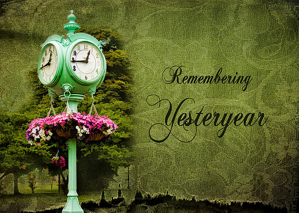 Remembering Yesteryear Print by Trudy Wilkerson