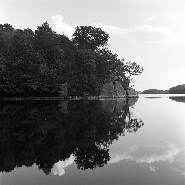 Reservoir Reflection Print by Adam Garelick