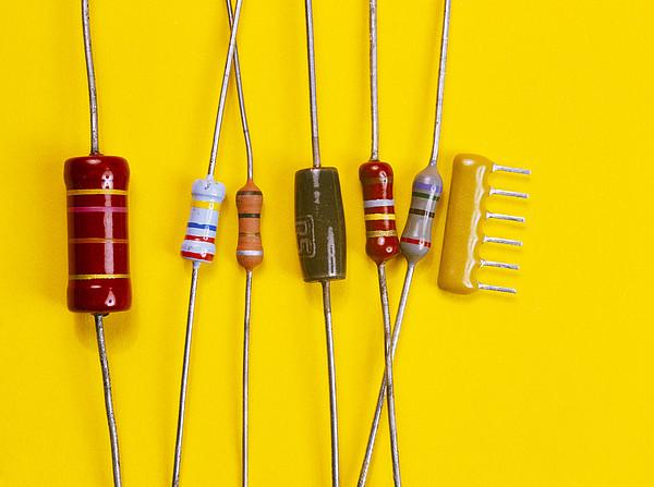 Resistors Print by Andrew Lambert Photography