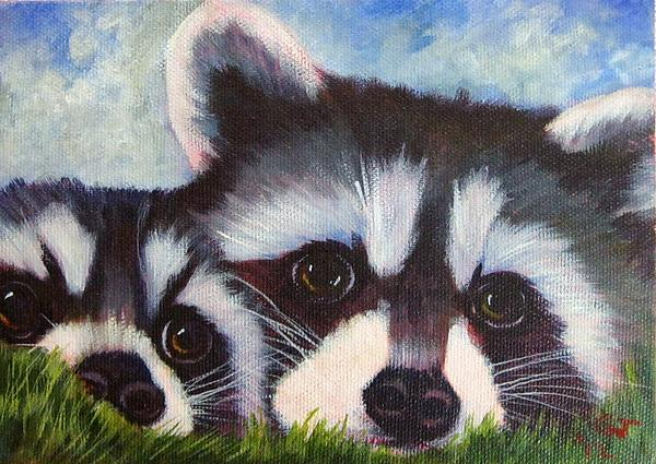 Resting And Watching Print by Ginger Jamerson
