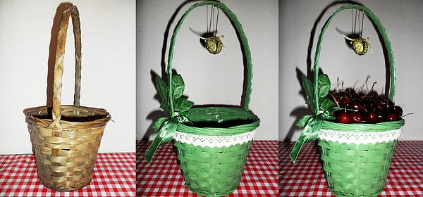 Donatella Muggianu - Restoration And Restyling Of An Old Wicker Basket With Magic Bell
