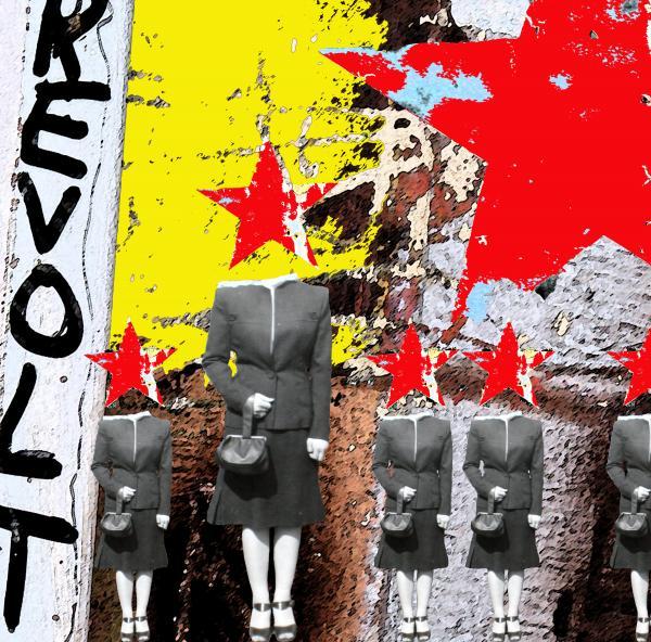 Revolt Print by Gary Everson