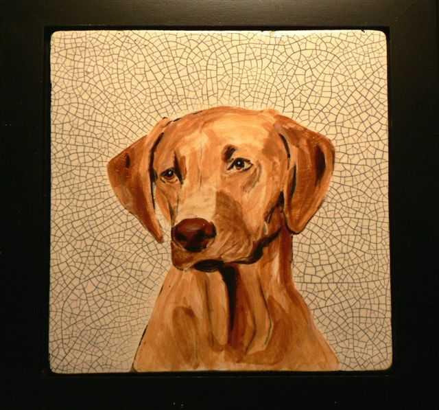Phillip Dimor - Rhodesian Ridgeback Tile