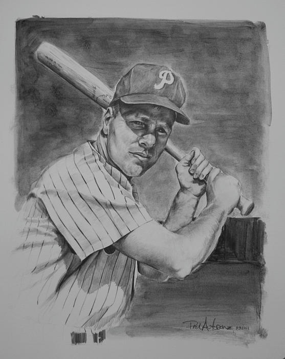 Richie Ashburn Drawing