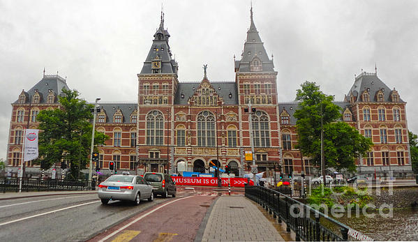 Rijksmuseum- 06 Print by Gregory Dyer