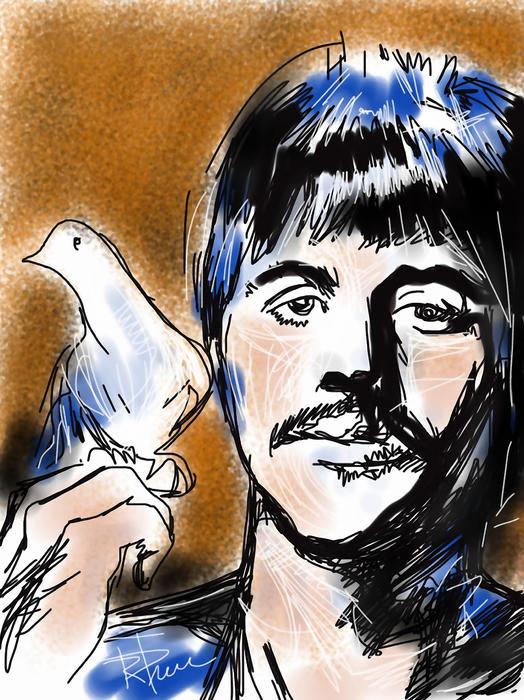 Ringo Print by Russell Pierce
