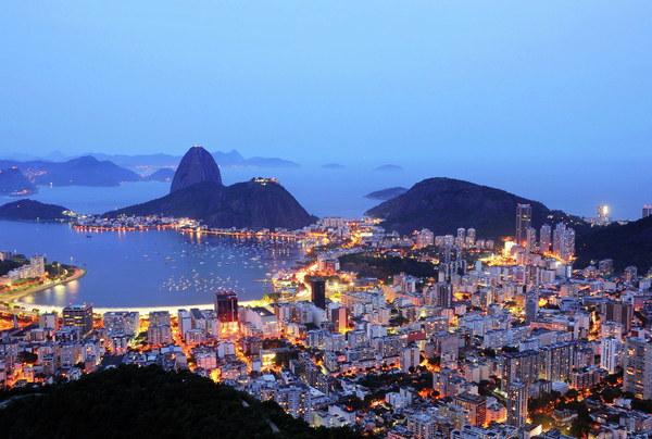 Rio De Janeiro, Beautiful City Print by ©Ricardo Barbieri