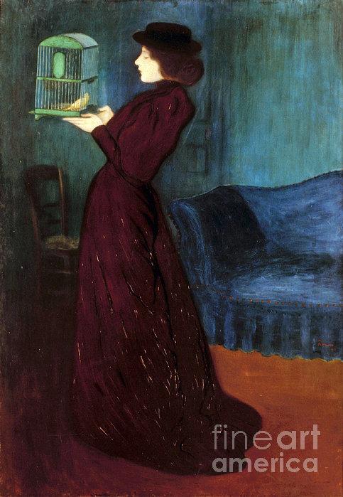 Ripple-ronai: Woman, 1892 Print by Granger