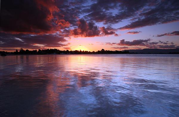 Noel Elliot - River Sunset