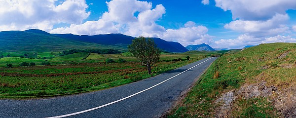 Road From Westport To Leenane, Co Mayo Print by The Irish Image Collection