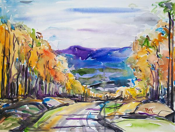 Becky Kim - Road to Mountain