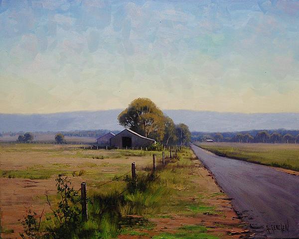 Road To Richmond Print by Graham Gercken