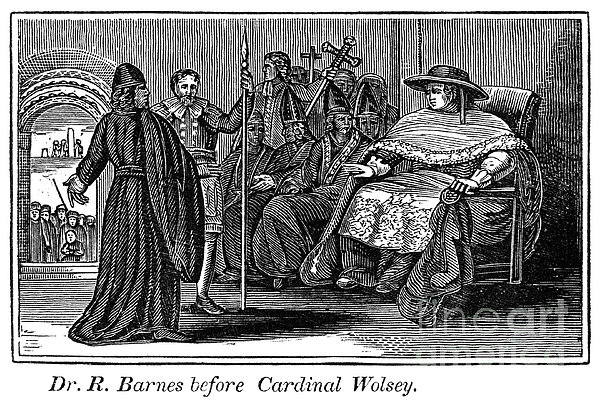 Robert Barnes (1495-1540) Print by Granger