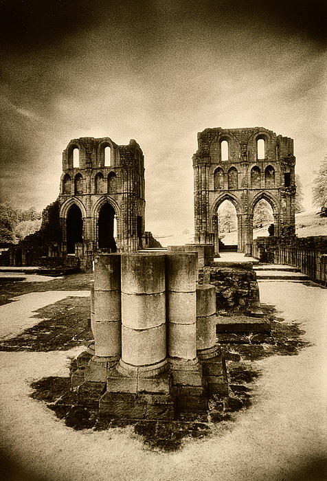 Roche Abbey Print by Simon Marsden