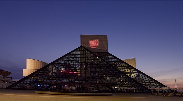 Rock And Roll Hall Of Fame Cleveland Print by Everett