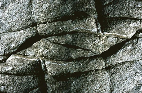 Rock Eye Of Ogunquit Print by Nancy Griswold