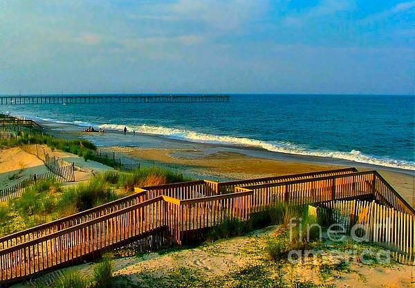 Rodanthe On The Outer Banks Print by Julie Dant