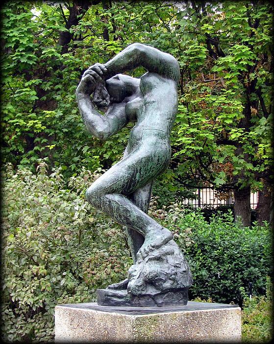 Carla Parris - Rodin Sculpture