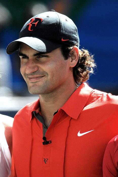 Roger Federer In Attendance For Arthur Print by Everett