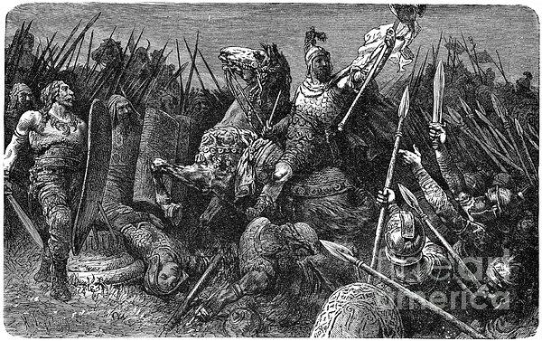 Rome: Belisarius, C537 Print by Granger