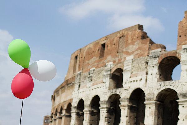 Rome Marathon Print by fotografie di *S*a*b*r*i*n*a* SabrinaGenovesi
