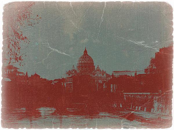 Rome Print by Naxart Studio