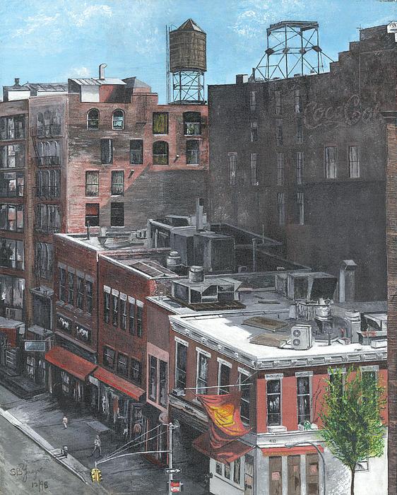 Stuart B Yaeger - Roof Tops NY NY