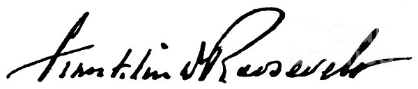 Roosevelt Signature Print by Granger