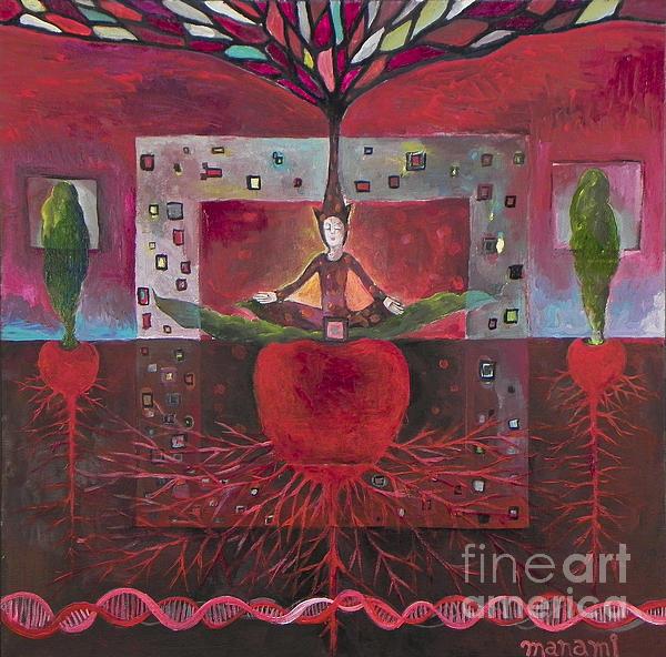 Root Print by Manami Lingerfelt