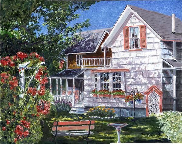 Rosa's Garden Print by Paul Gardner