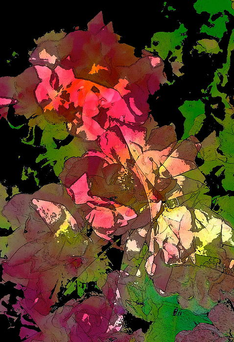 Rose 153 Print by Pamela Cooper
