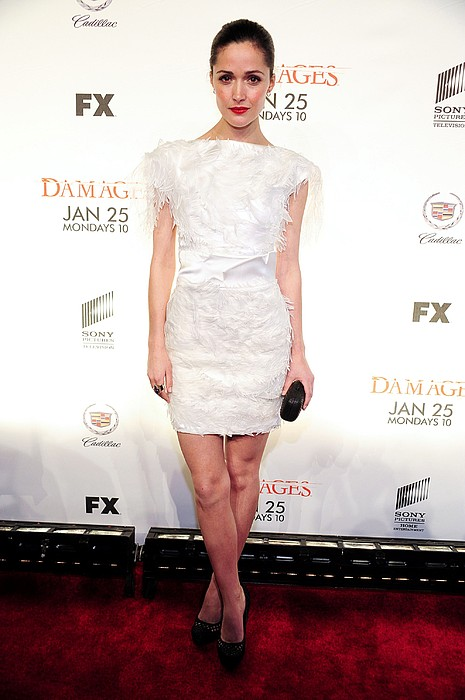 Rose Byrne Wearing A Hakan Dress, Miu Print by Everett