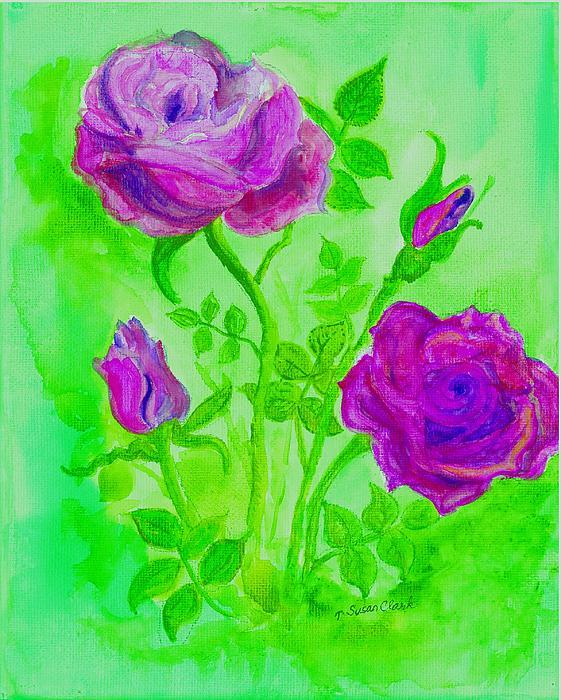 Susan  Clark - Roses