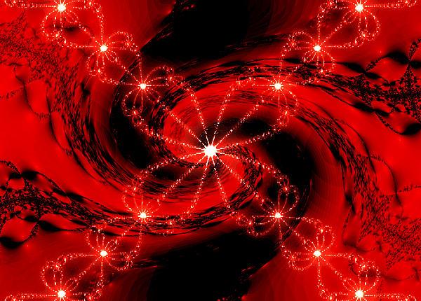 Mother Nature - Rouge et Noir avec Blanc