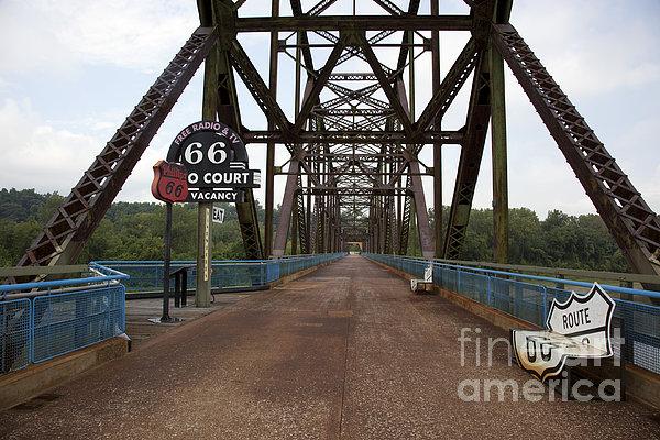 Route 66 Bridge, 2009 Print by Granger