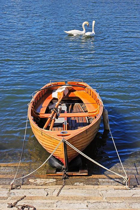 Rowboat Print by Joana Kruse