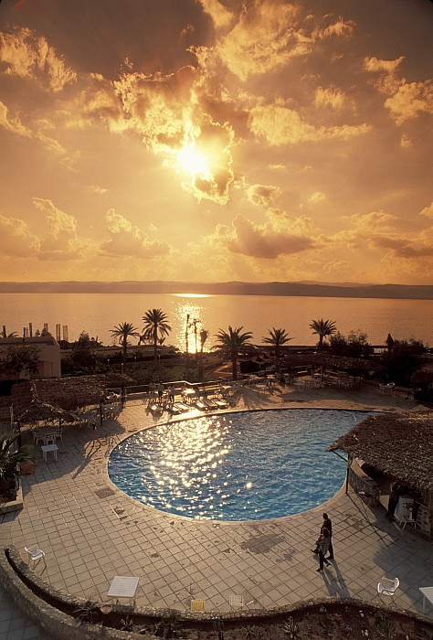 Royal Suite In The Dead Sea Spa Hotel Print by Richard Nowitz